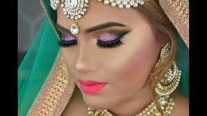 dramatic deshi indian and stani bridal makeup look