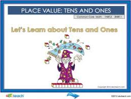 Promethean Flipchart Lesson Place Values Interactive