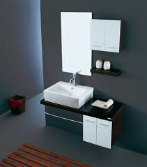 imposing interior design of room with small bathroom vanities in modern style idea bathroom basin furniture