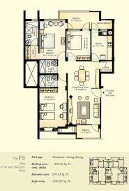 vatika city iris typical floor plans