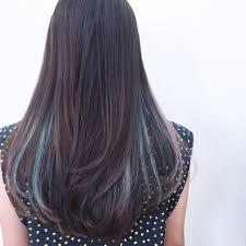 インナーカラーでロング髪をおしゃれに格上げ2017オススメ色はこちら