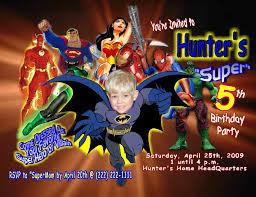 Personalized Superhero Birthday Invitations Super Hero Personalized Photo Birthday Invitations 1 39 Welcome