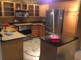 Kitchen Refacing Kitchen Refacing Oak To Bright White Capital Kitchen Refacing