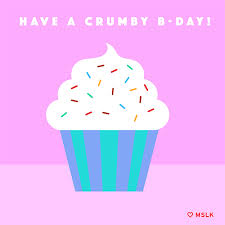 animated birthday cupcakes. Simple Cupcakes Happy Birthday Cupcake GIF By MSLK Design To Animated Cupcakes L