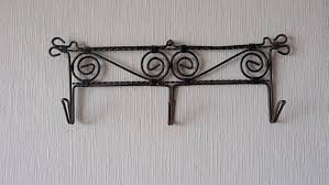 Strong Coat Rack Impressive Soviet Vintage Wall Coat Rack Wire Coat Hooks Rusty Wall Hooks