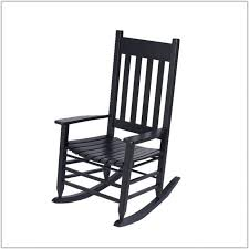 black outdoor rocking chair cushions chair home black wooden rocking chairs for