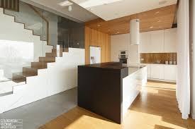 White Light Design Poland Modern Home Interior Black White Light Wood Color