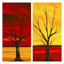 Acrylic Paintings On Canvas | > Abstract Art Dapore Contemporary paintings  > LANDSCAPE CANVAS ART .