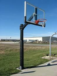 ironclad sports highlight hoops in ground outdoor fixed basketball rim best pro hoop inch tempered glass ball return system outside s48