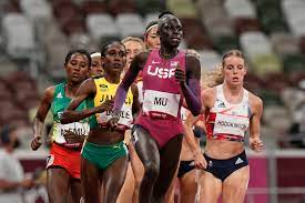 Athing Mu is the Olympic 800 champion ...