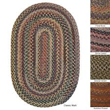 oval rugs 8x10 pine canopy multicolored wool area rug 8 x oval rugs 8x10