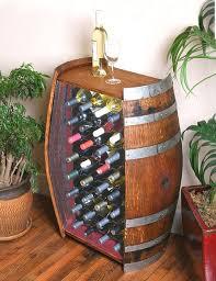 storage oak wine barrels. This Unique Wine Barrel Rack Is Made From A Full 59 Gallon Napa Valley Oak Storage Barrels
