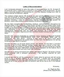 Medical School Recommendation Letter Sample Cycling Studio