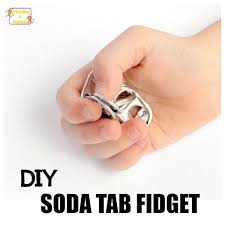 this diy soda tab fidget easy fun effective adhd teachers