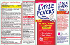 Little Fevers By Little Remedies Liquid Medtech Products Inc