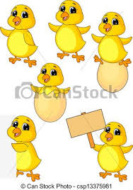 cute baby chicken clipart. Plain Baby Cute Baby Chicken Cartoon Set  Csp13375981 And Baby Chicken Clipart E
