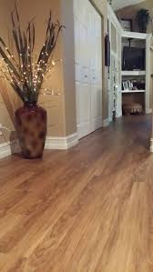 new engineered vinyl plank flooring called classico teak from shaw that we recently installed for butch