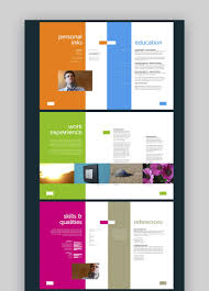 It can be used by an then this is the resume for you to use. 29 Cool Colorful Resume Cv Templates To Stand Out Creatively In 2020