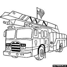 Small Picture fireman coloring pages printable fire truck with firemen