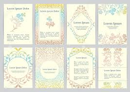 Greek Templates Vector Templates For A4 With Florals Based On Ancient Greek