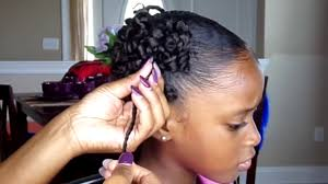 Natural Hairstyles Ponytails Curly Ponytails Tutorial Kids Natural Hairstyle Iamawog Youtube