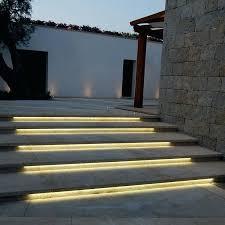 Outdoor stairway lighting Cement Step Stairway Led Lighting Led Outdoor Stair Lights Outdoor Designs Led Lights For Outdoor Stairs Stairway Led Lighting Alanstylesinfo Stairway Led Lighting Led Stair Lights Led Strip Lights For Stairs