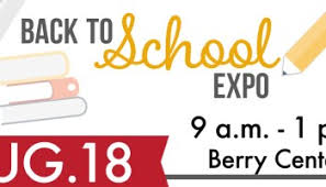 Cfisd 2019 Back To School Expo Set For Aug 10 At Berry