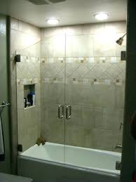 bathroom shower tub combo glass doors best frosted medium size of bathtub and curtain or door