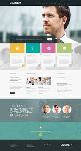 Responsive Website Templates Consulting Responsive Website Template 24 21