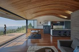 curved wood ceiling. Brilliant Curved View In Gallery Curved Form The Ceiling  On Wood Ceiling V