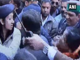Watch Himachal Mla Asha Kumari Slaps Female Cop Gets It Back