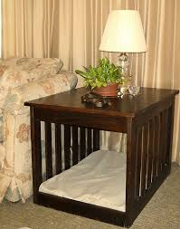 medium end table dog bed furniture