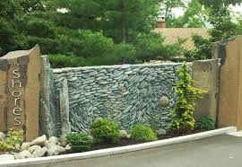 Small Picture Spectacular Stone Walls Blending Ancient Art into Creative Wall Design