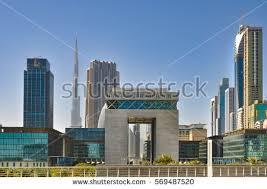 modern architecture skyscrapers. Fine Skyscrapers DUBAIUAE  MARCH 102012 Modern Architecture Skyscrapers And Buildings On  The And Architecture Skyscrapers A