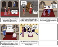 romeo and juliet act scene storyboard by kristin