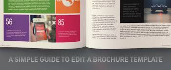 Patient Brochure Templates A Simple Guide To Edit A Brochure Template Creative Market Blog