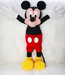 Mickey Mouse Crochet Pattern