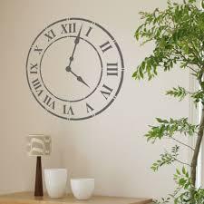 living room wall clocks. Ideas, Wall Clock Stencil For Living Room Clocks Intended Sizing 1000 X L