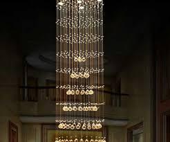 modern crystal chandelier large led lamps long big