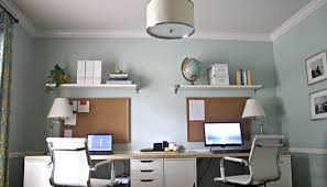 wall mounted home office. Desk : Fancy Modern Home Office Wall Shelves Design Combined Mounted R