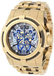 invicta gold watches men invicta men s 13758 bolt reserve gold watches men invicta