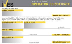Forklift License Template Wallet Size Nextinvitation