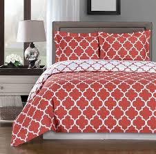 c and white meridian full queen 3 piece duvet cover set
