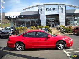 2001 Bright Red Pontiac Grand Prix GT Sedan #27235250   GTCarLot ...