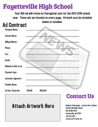 Newspaper Advertising Contract Template 110 Newspaper Customizable Design Templates Postermywall