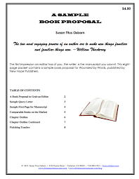 Writing A Book Chapter Proposal Sample