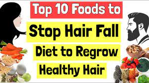 top 10 foods to stop hair fall t