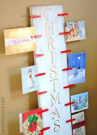 Christmas Card Holder A Lowes Creative Idea Lowescreator