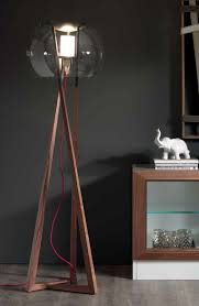 in floor lighting fixtures. Compass By Andrea Lucatello Floor Lamp In Natural Canaletto Walnut With Graphite Details. Clear Lighting Fixtures O