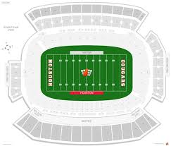 Cougar Field Seating Chart Tdecu Stadium Houston Seating Guide Rateyourseats Com